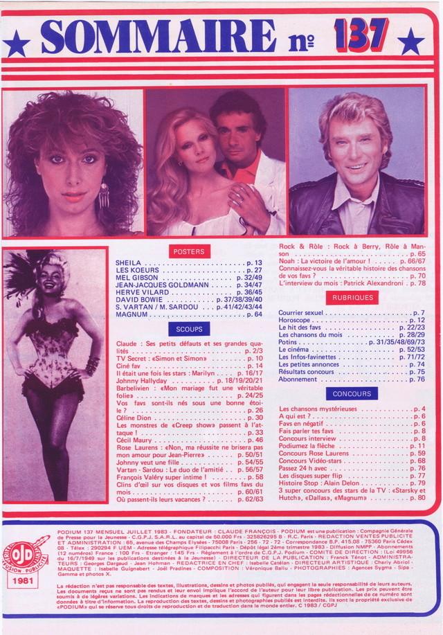 """Discographie N° 39 (COMPLEMENT) """"LA PREMIERE FOIS QU'ON S'AIMERA"""" - Page 4 Podiu104"""