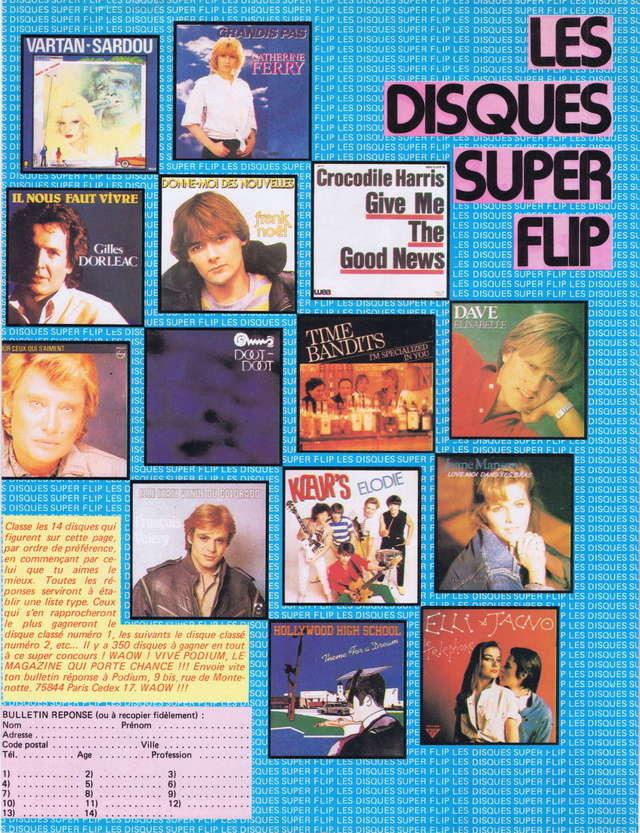 """Discographie N° 39 (COMPLEMENT) """"LA PREMIERE FOIS QU'ON S'AIMERA"""" - Page 4 Podiu126"""