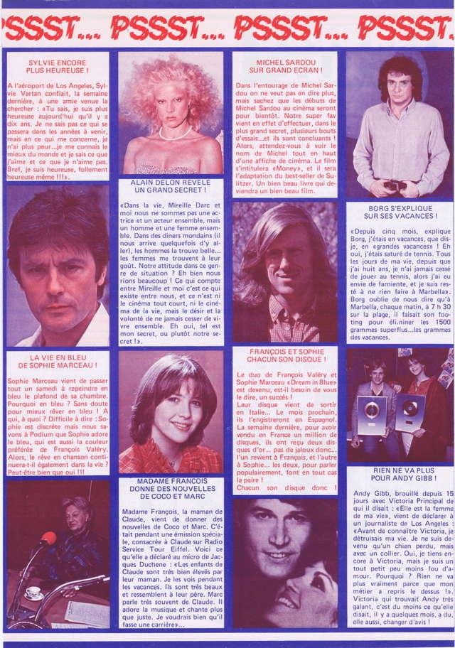 Discographie N° 80 LA SORTIE DE SECOURS - Page 3 Podium50