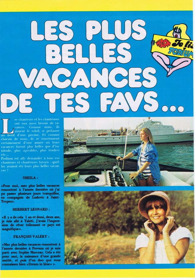 Discographie N° 80 LA SORTIE DE SECOURS - Page 3 Podium58