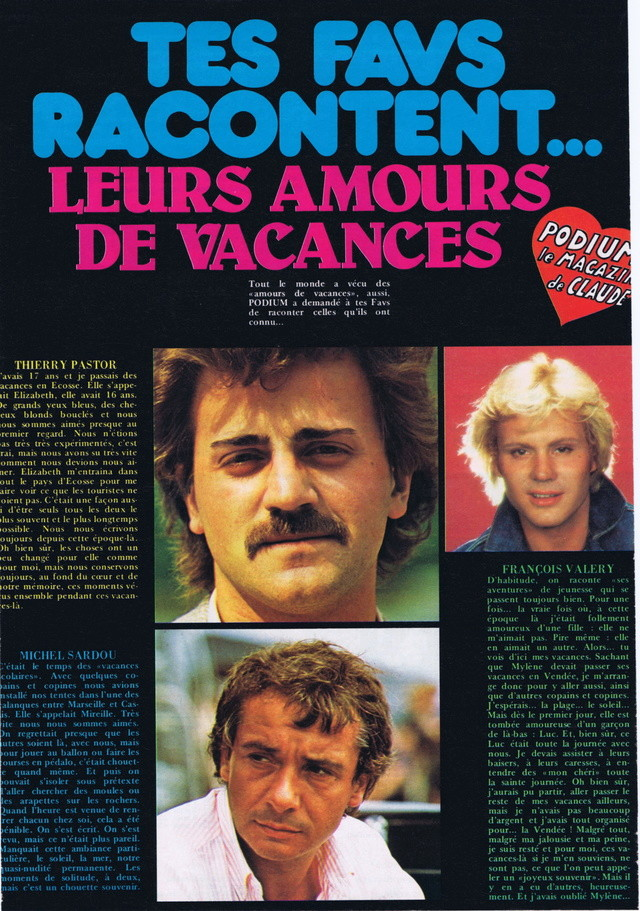 Discographie N° 80 LA SORTIE DE SECOURS - Page 3 Podium62
