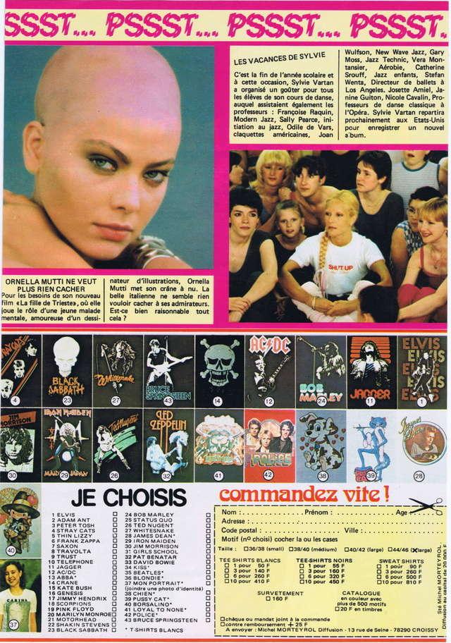 Discographie N° 80 LA SORTIE DE SECOURS - Page 3 Podium63