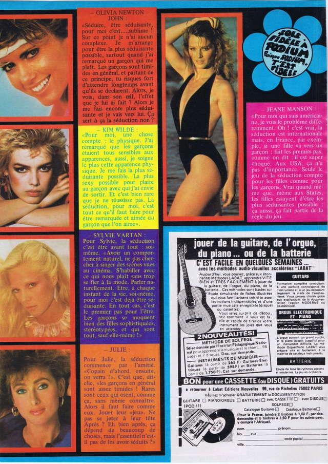 Discographie N° 81 MARATHON WOMAN - Page 2 Podium79