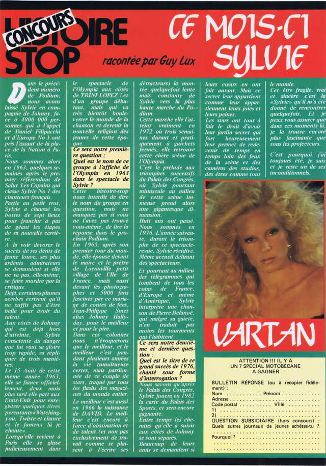 Discographie N° 81 MARATHON WOMAN - Page 2 Podium81