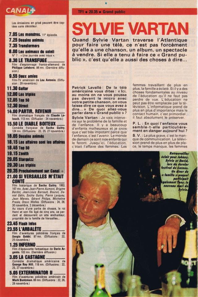 Discographie N° 89 RIEN A FAIRE - Page 3 Tele_m16