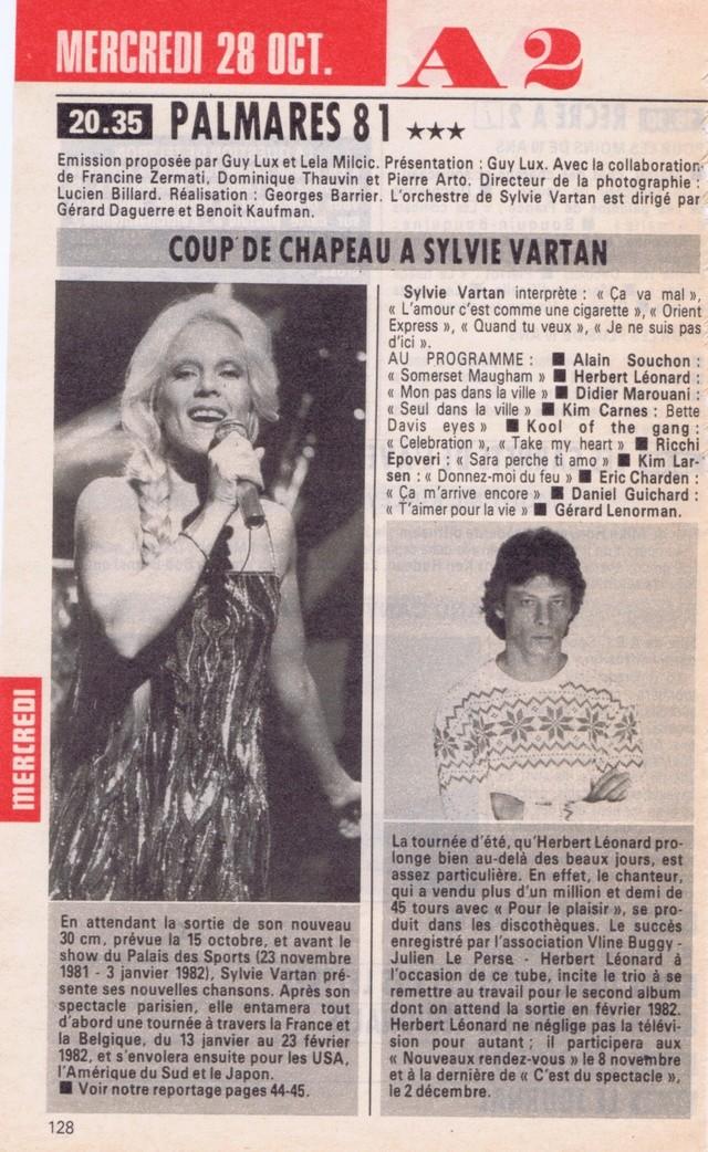 Discographie N° 78 L'AMOUR C'EST COMME UNE CIGARETTE - Page 2 Tele_p13