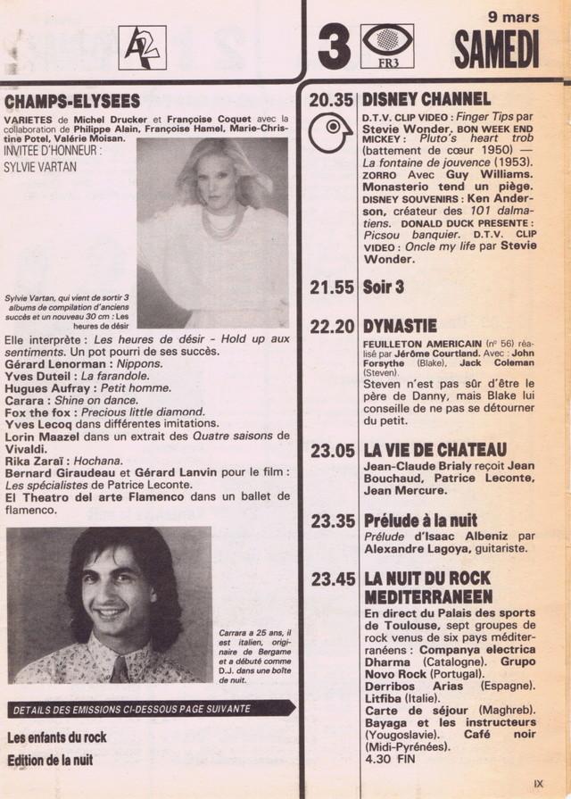 Discographie N° 86 : DES HEURES DE DESIR - Page 3 Tele_p22