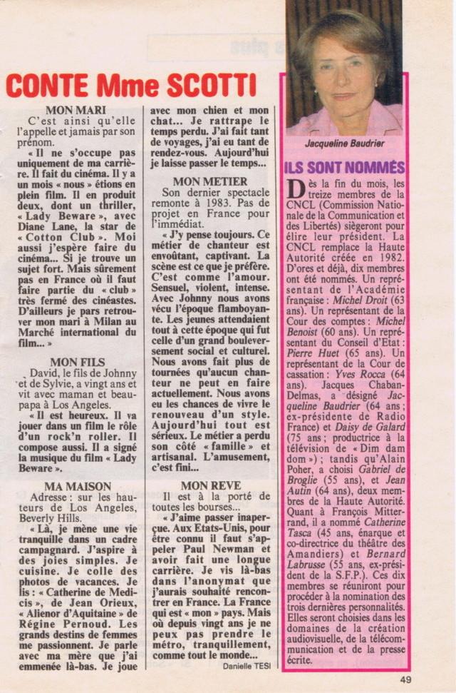 Discographie N° 89 RIEN A FAIRE - Page 3 Tele_p23