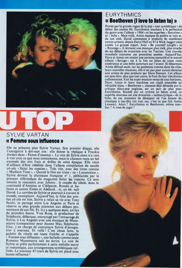 Discographie N° 91 FEMME SOUS INFLUENCE - Page 3 Top_5011