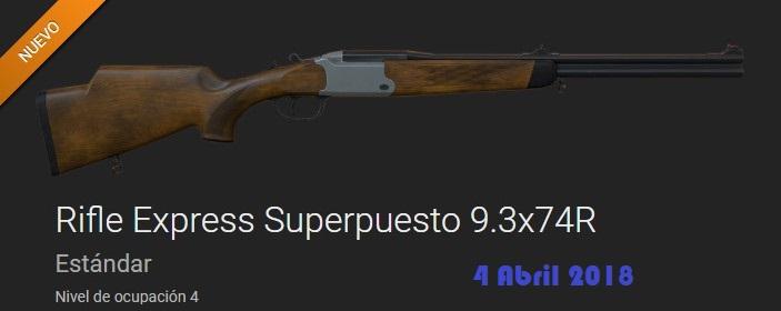COMENTARIOS NUEVO RIFLE EXPRES  SUPERPUESTO 9,3 X 74 R (04 Abril 2018) Rifle_16