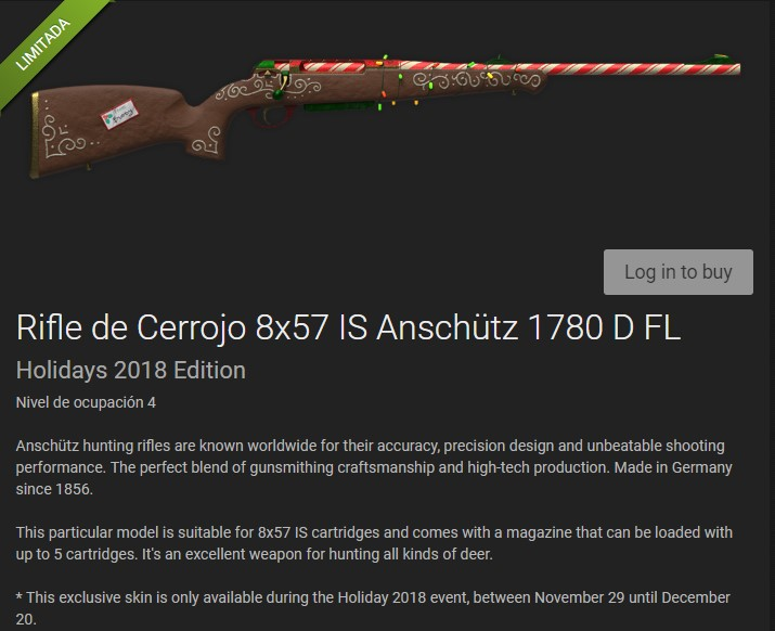 TIENDA: NUEVO RIFLE DE CERROJO 8X57 IS Anschütz 1780 D FL (600 em$) Rifle_21