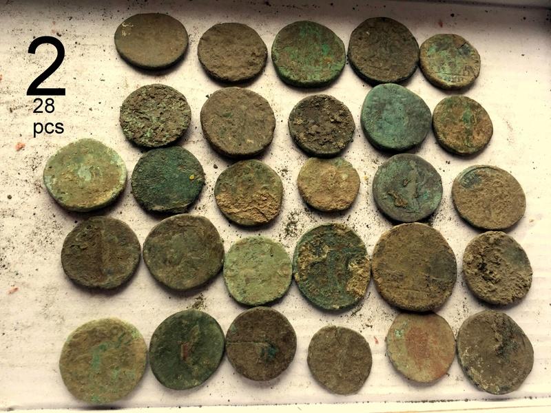 Large Roman Coins 1-111
