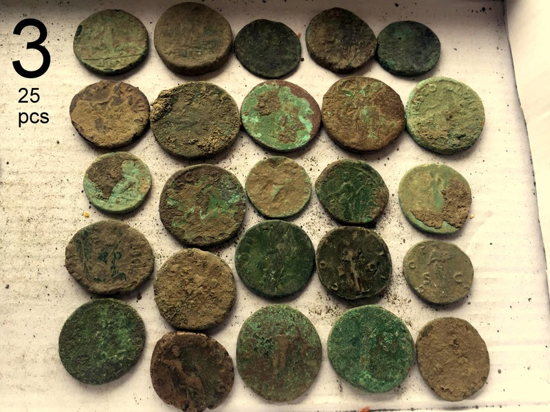 Large Roman Coins 2-211