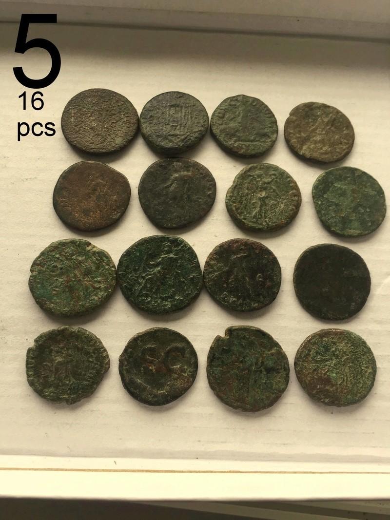 Large Roman Coins 4-411