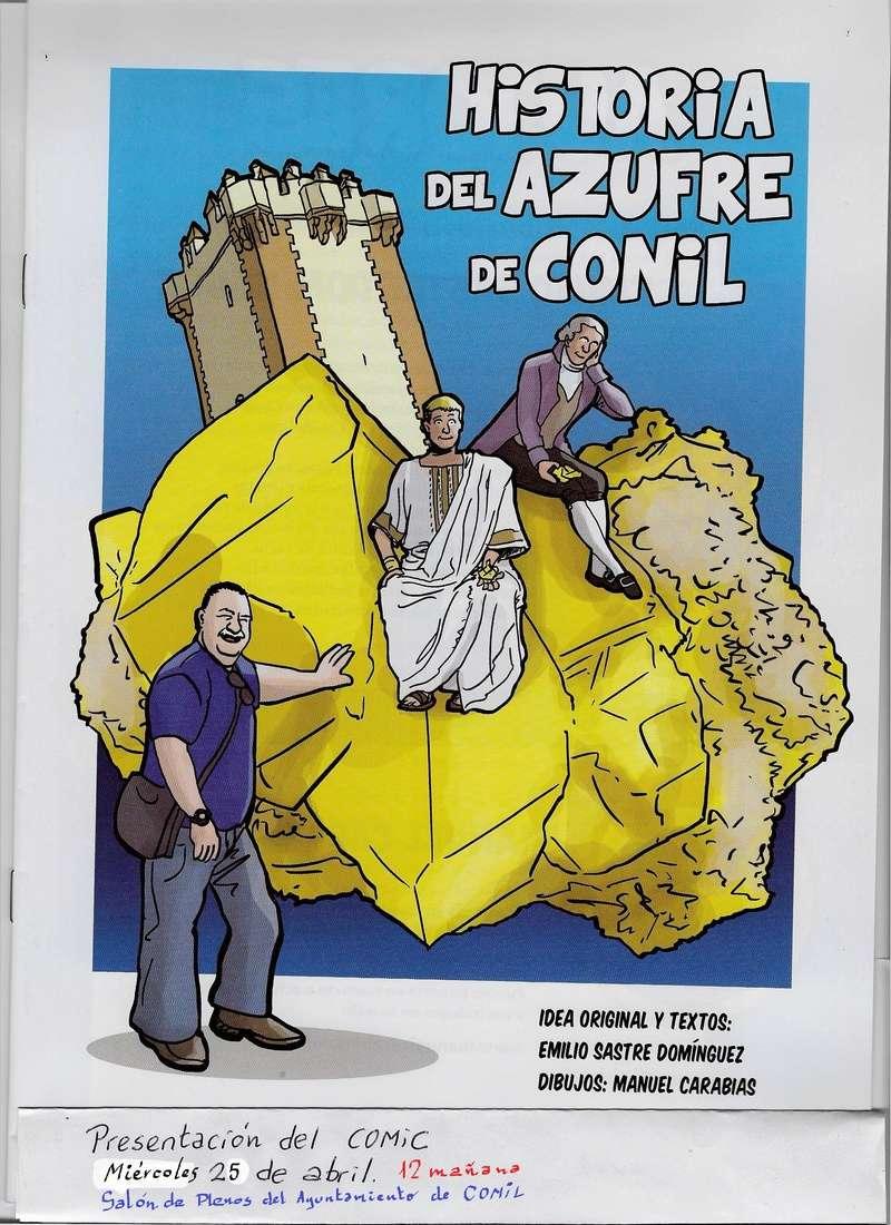 HISTORIA DEL AZUFRE DE CONIL - Por D. Emilio Sastre 11110