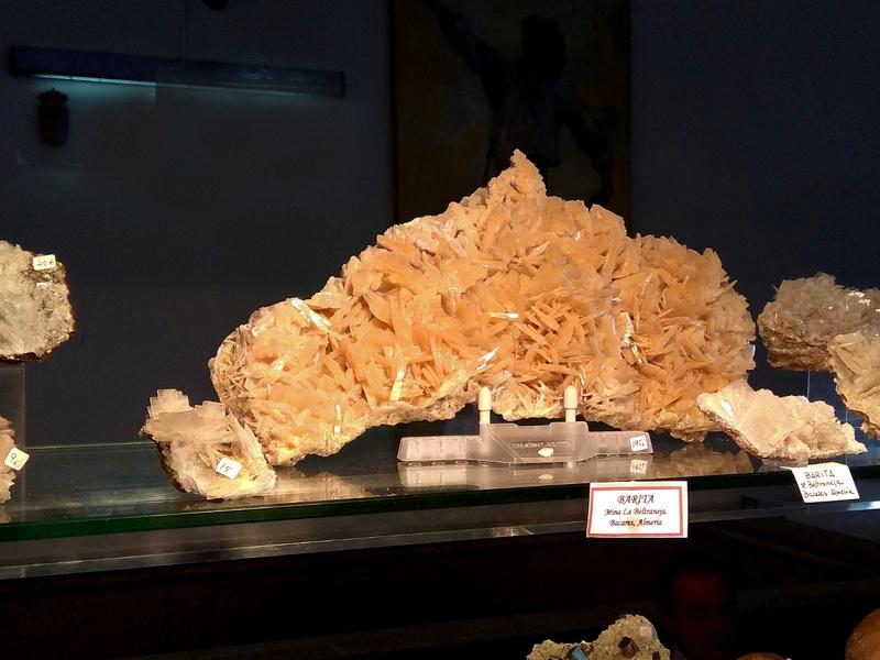 XXII Feria de Minerales y Fósiles de La Unión - 2018 Bari10