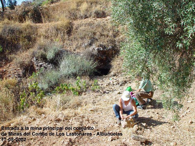 MINAS DEL CORTIJO DE LOS LASTONARES, ALBUÑUELAS (GRANADA) Cortla11
