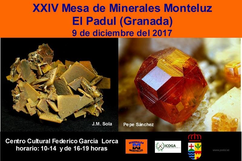 XXIV Mesa de minerales Monteluz. 9 de diciembre de 2017. El Padul (Granada) E65ddb10