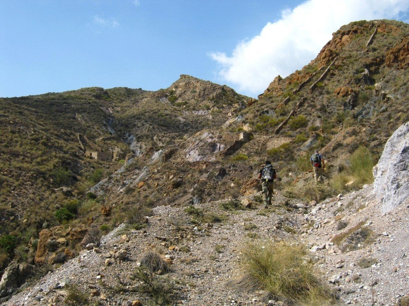 MINAS DE LOS FIGUERAS - CUEVA DEL PAJARO - CARBONERAS (Almería) Fig00310