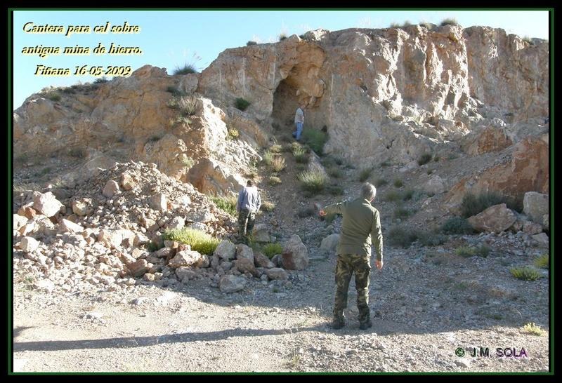 MINAS DEL BARRANCO DEL GALLO, FIÑANA (Almería) 2009 Fin310