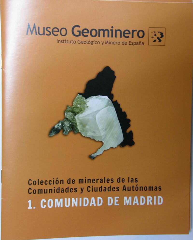 Colección de minerales españoles del Museo Geominero Geom_110