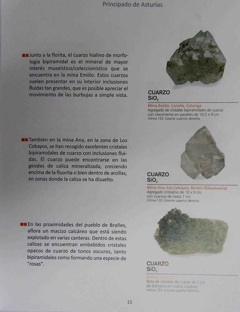 Colección de minerales españoles del Museo Geominero Geom_610