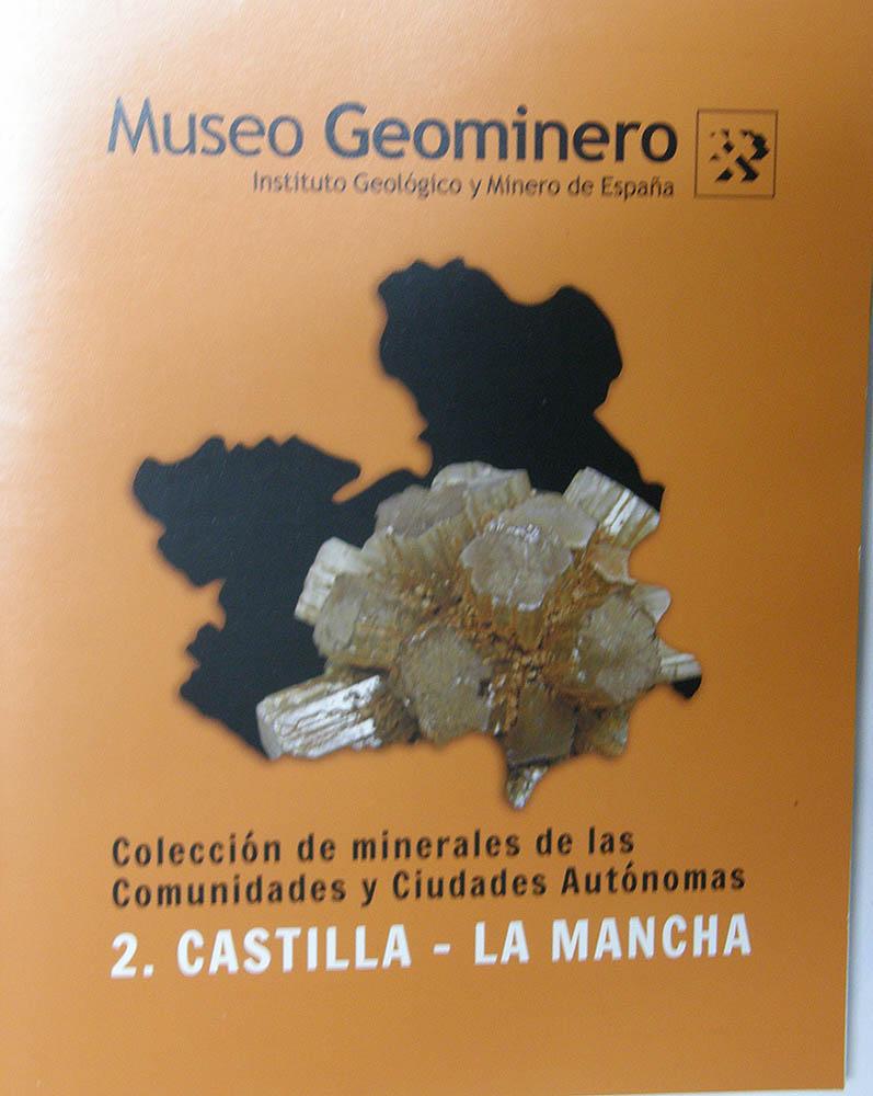 Colección de minerales españoles del Museo Geominero Geom_710