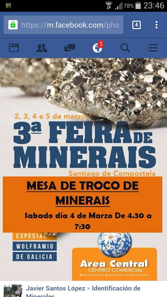 Mesa de Intercambio en la Feria de Minerales de Santiago   2017 Img-2122