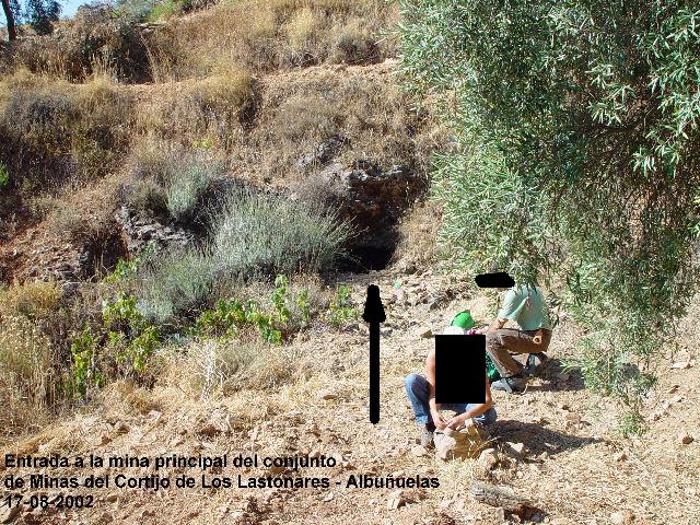 MINAS DEL CORTIJO DE LOS LASTONARES, ALBUÑUELAS (GRANADA) Laston12