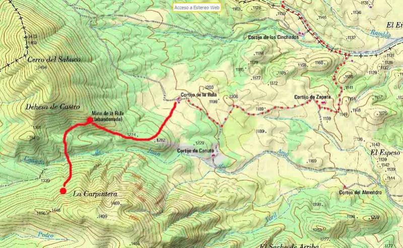 MINAS DE LA RULA Y JUAN DEL AMO, LUCAR (ALMERIA) Mapa10