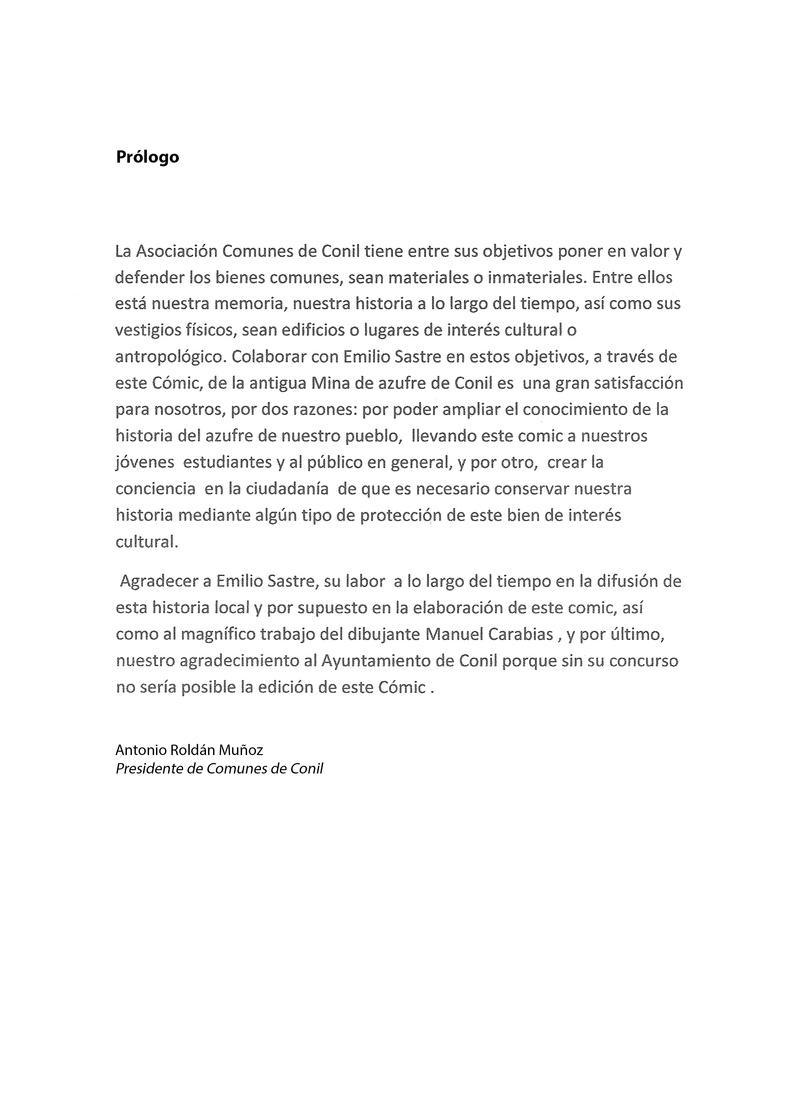 HISTORIA DEL AZUFRE DE CONIL - Por D. Emilio Sastre Origin10
