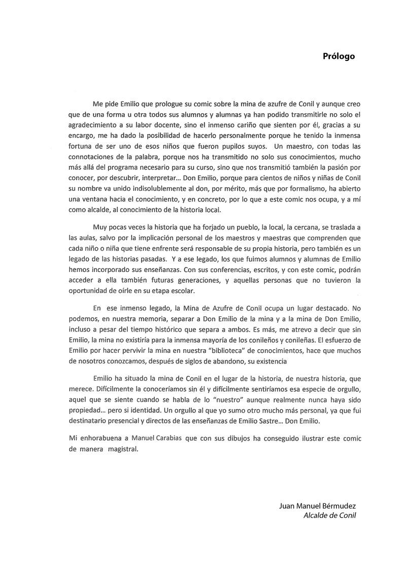 HISTORIA DEL AZUFRE DE CONIL - Por D. Emilio Sastre Origin12