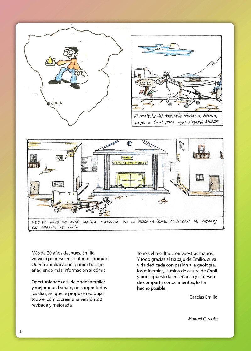 HISTORIA DEL AZUFRE DE CONIL - Por D. Emilio Sastre Origin13