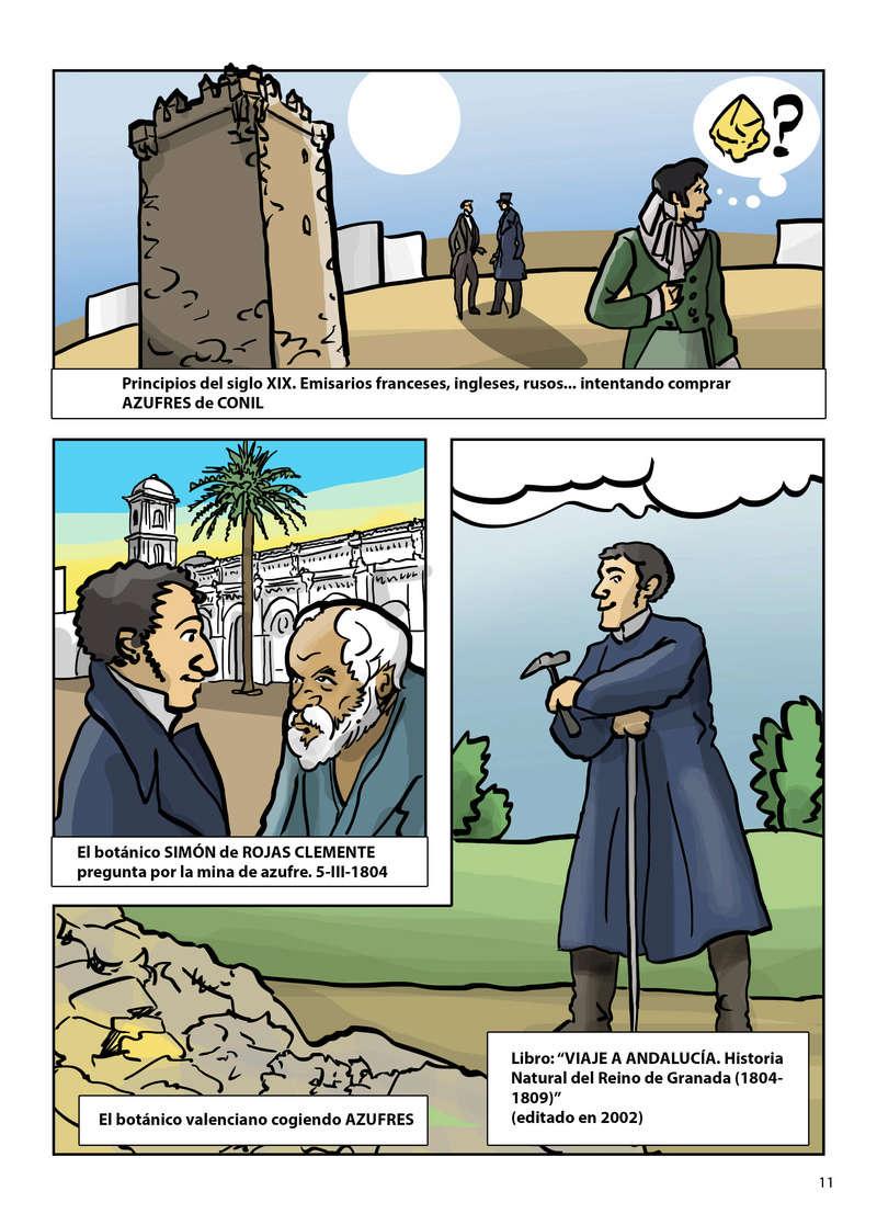 HISTORIA DEL AZUFRE DE CONIL - Por D. Emilio Sastre Origin14