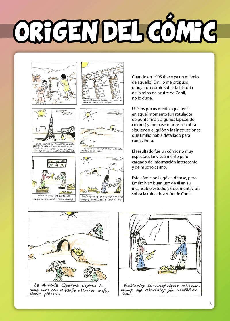 HISTORIA DEL AZUFRE DE CONIL - Por D. Emilio Sastre Origin17