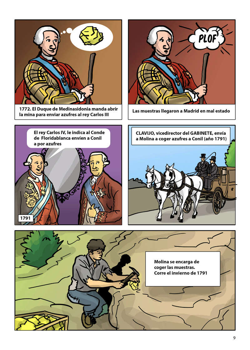 HISTORIA DEL AZUFRE DE CONIL - Por D. Emilio Sastre Origin18