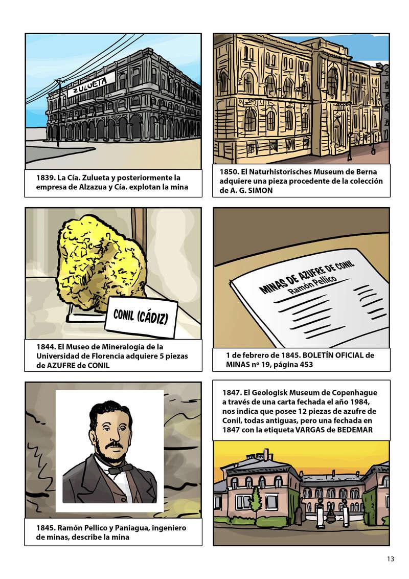 HISTORIA DEL AZUFRE DE CONIL - Por D. Emilio Sastre Origin20