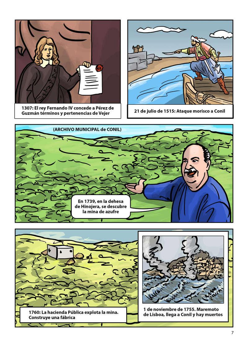 HISTORIA DEL AZUFRE DE CONIL - Por D. Emilio Sastre Origin22