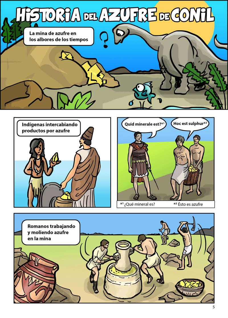HISTORIA DEL AZUFRE DE CONIL - Por D. Emilio Sastre Origin23