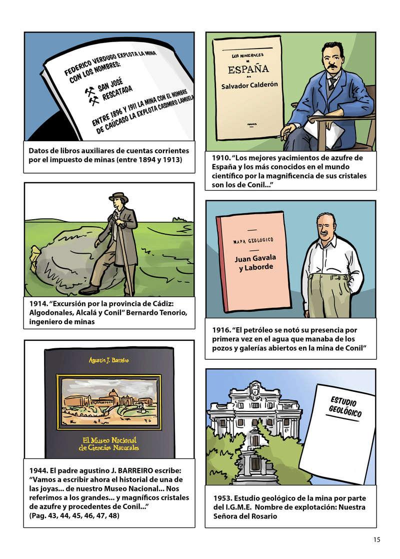HISTORIA DEL AZUFRE DE CONIL - Por D. Emilio Sastre Origin26
