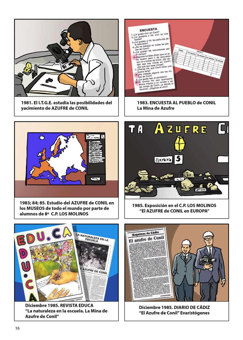 HISTORIA DEL AZUFRE DE CONIL - Por D. Emilio Sastre Origin29