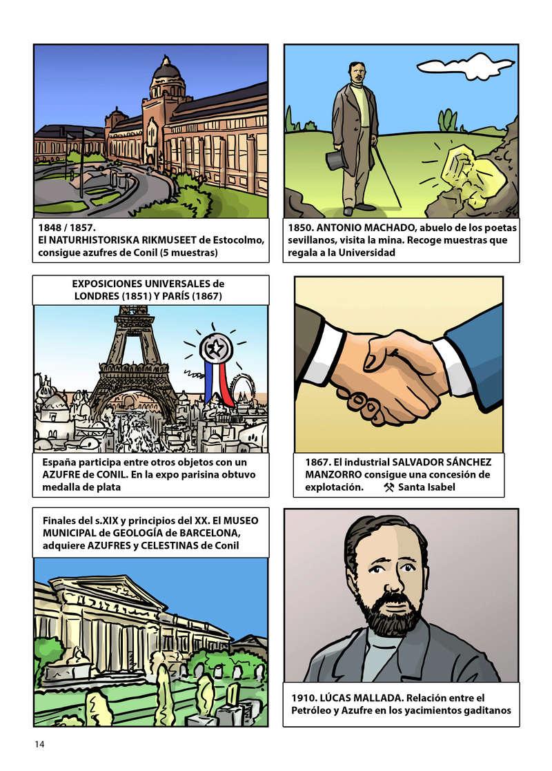 HISTORIA DEL AZUFRE DE CONIL - Por D. Emilio Sastre Origin32