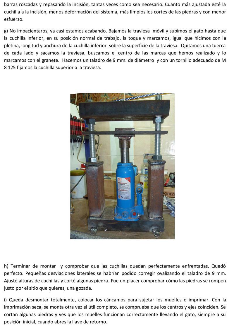Prensa para cortar minerales Prensa11