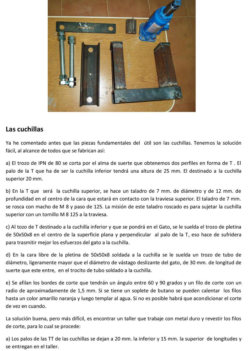 Prensa para cortar minerales Prensa12