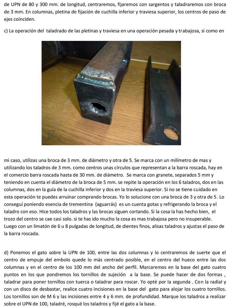 Prensa para cortar minerales Prensa13