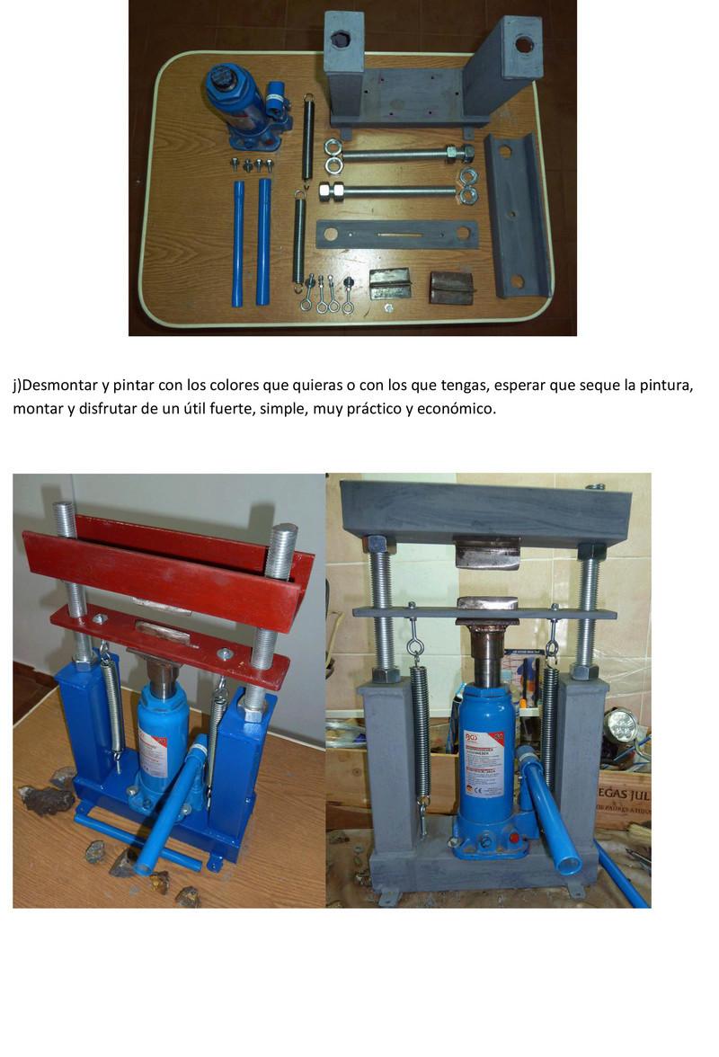 Prensa para cortar minerales Prensa15