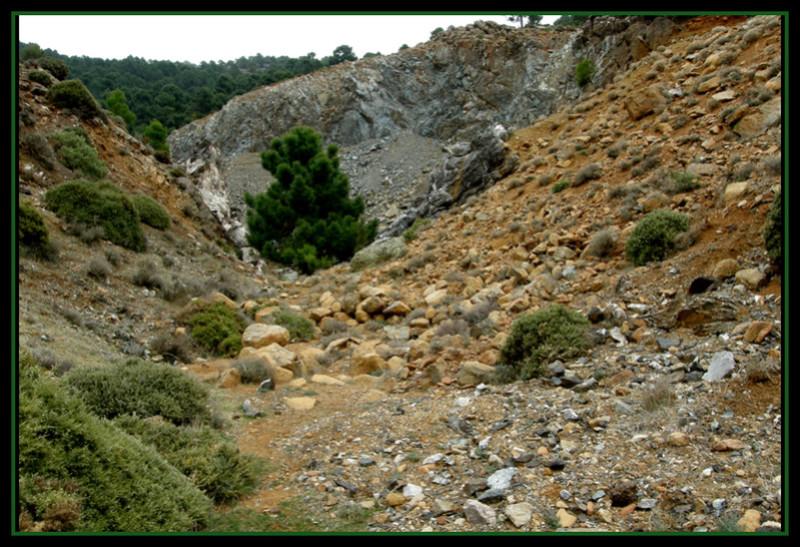 MINAS DEL ROBLEDAL – IGUALEJA (Málaga)  LUDWIGITA/LUDWIGITE Rob9b11