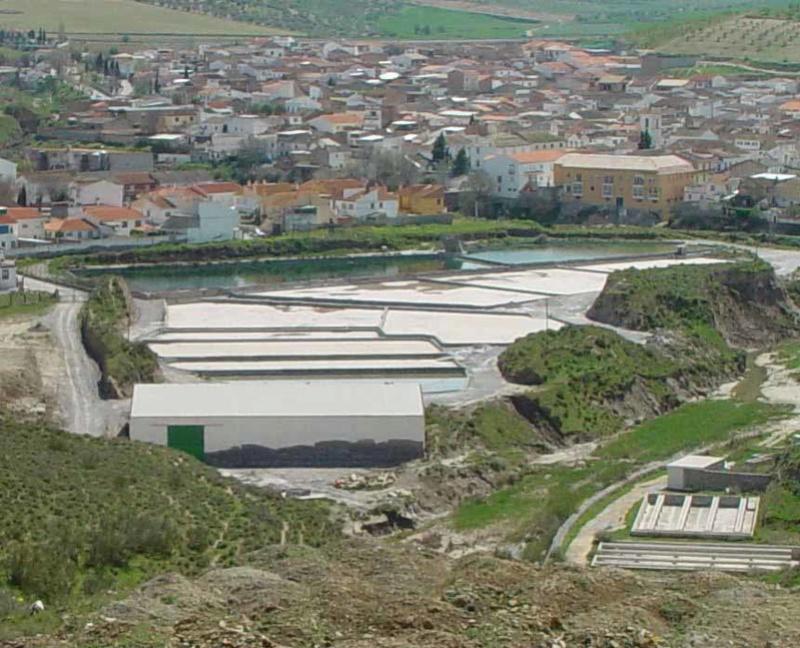 MINA AURORA, MONTEVIVES, LA MALAHÁ/ALHENDÍN (Granada) Salina10