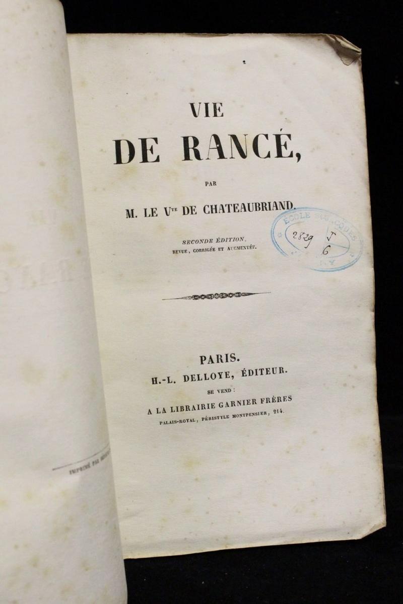 François-René de Chateaubriand H-300011