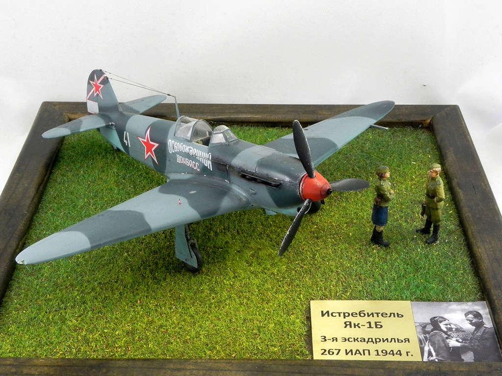 """Як-1Б """"Освобождённый Донбасс"""" 10010"""
